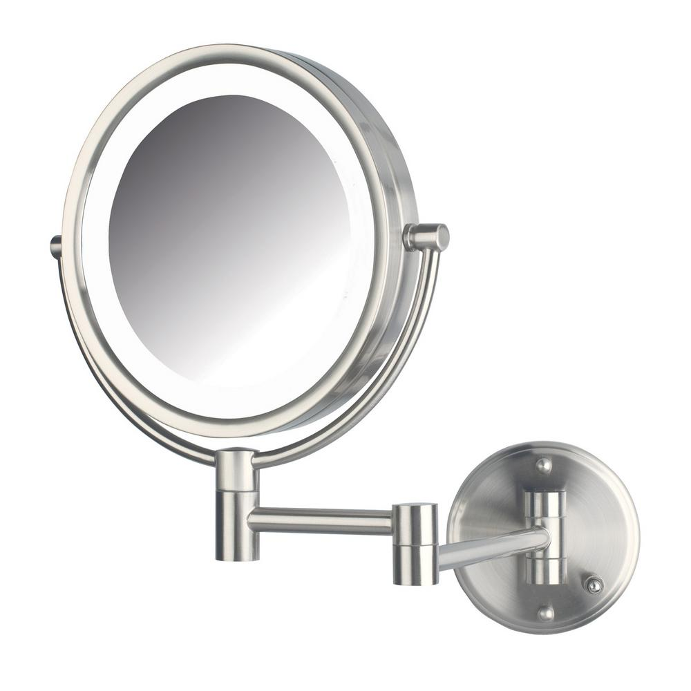 Bi View Led Lighted Wall Mirror