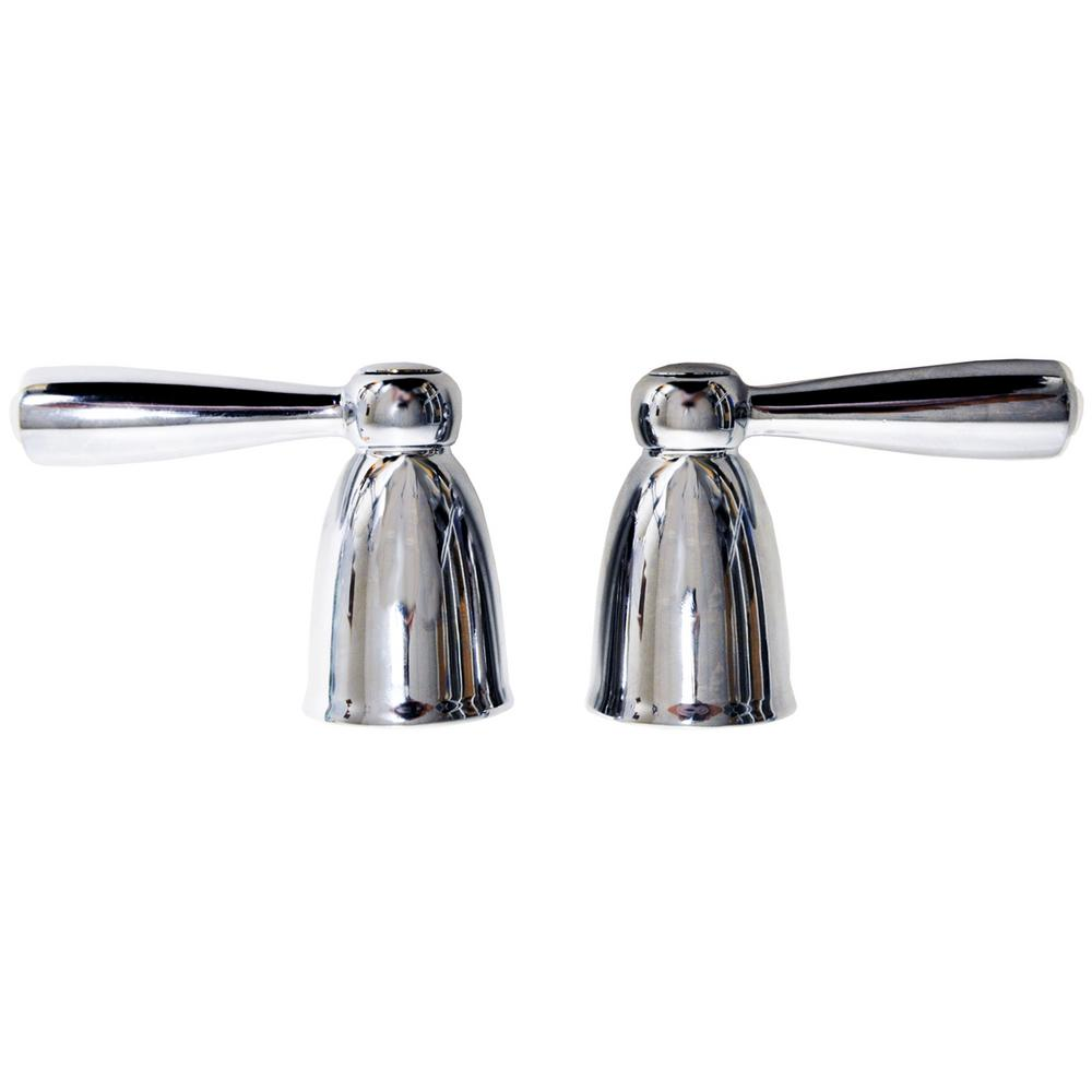 DANCO Lever Handles for MOEN Banburry in Chrome-Pair
