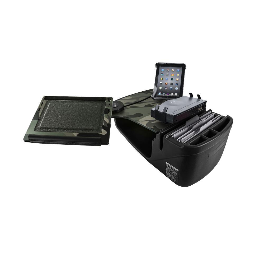 AutoExec Wheelmate 15 in  Steering Wheel Desk in Black