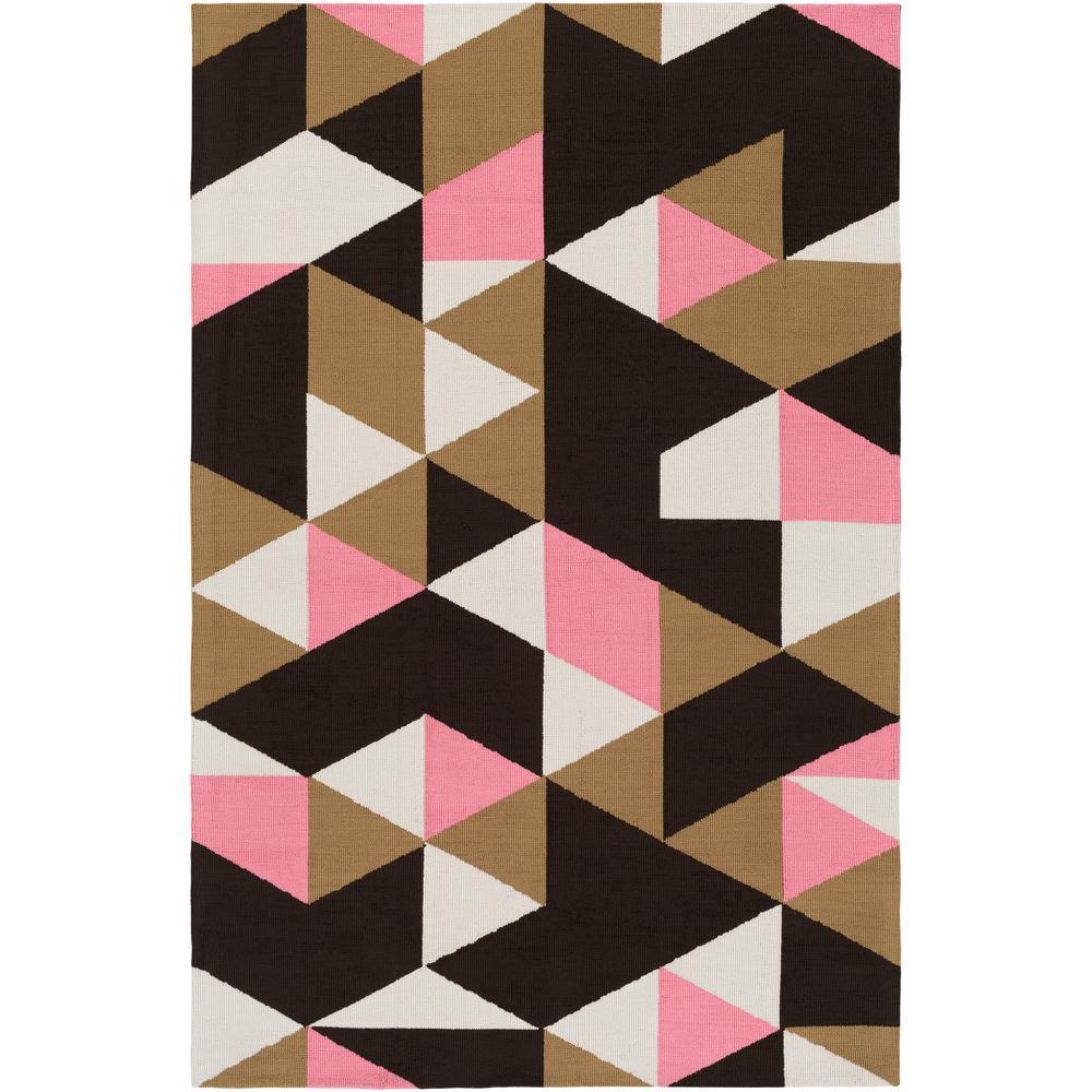 Joan Fulton Carnation Pink 7 ft. 6 in. x 9 ft.