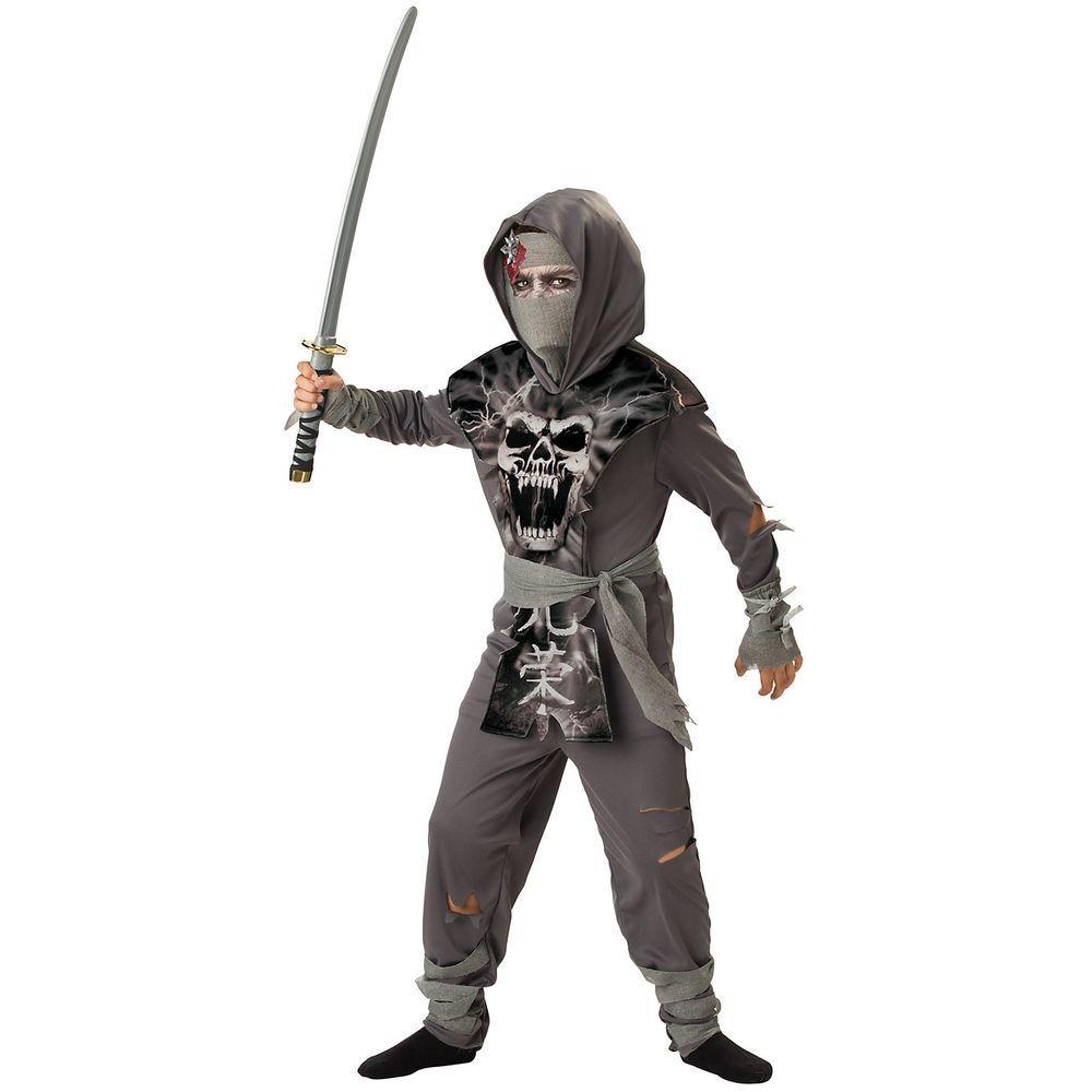 incharacter costumes boys zombie ninja costume-ic92002_xl - the home