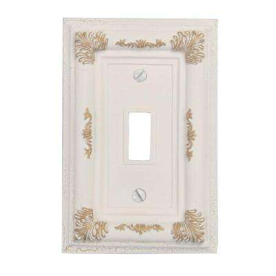Antique White Light Switch Plates