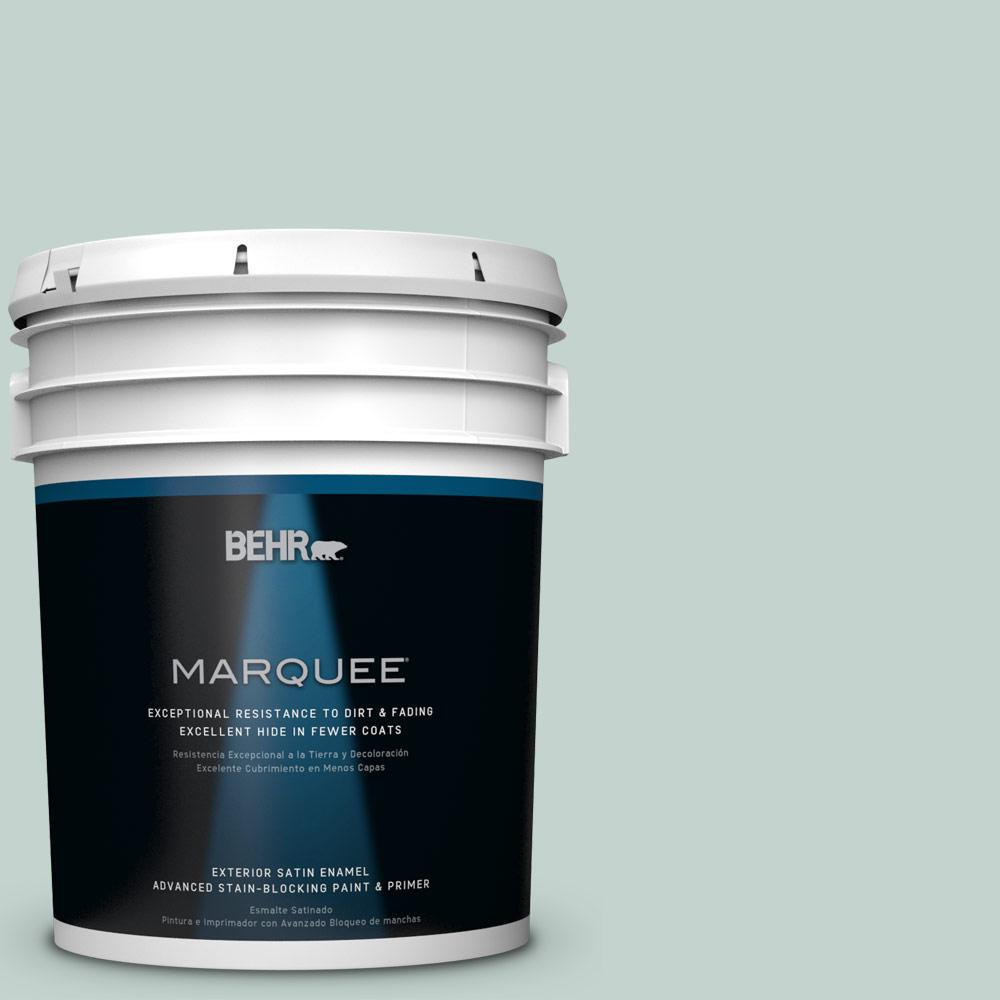 5 gal. #N430-2 Natures Reflection Satin Enamel Exterior Paint