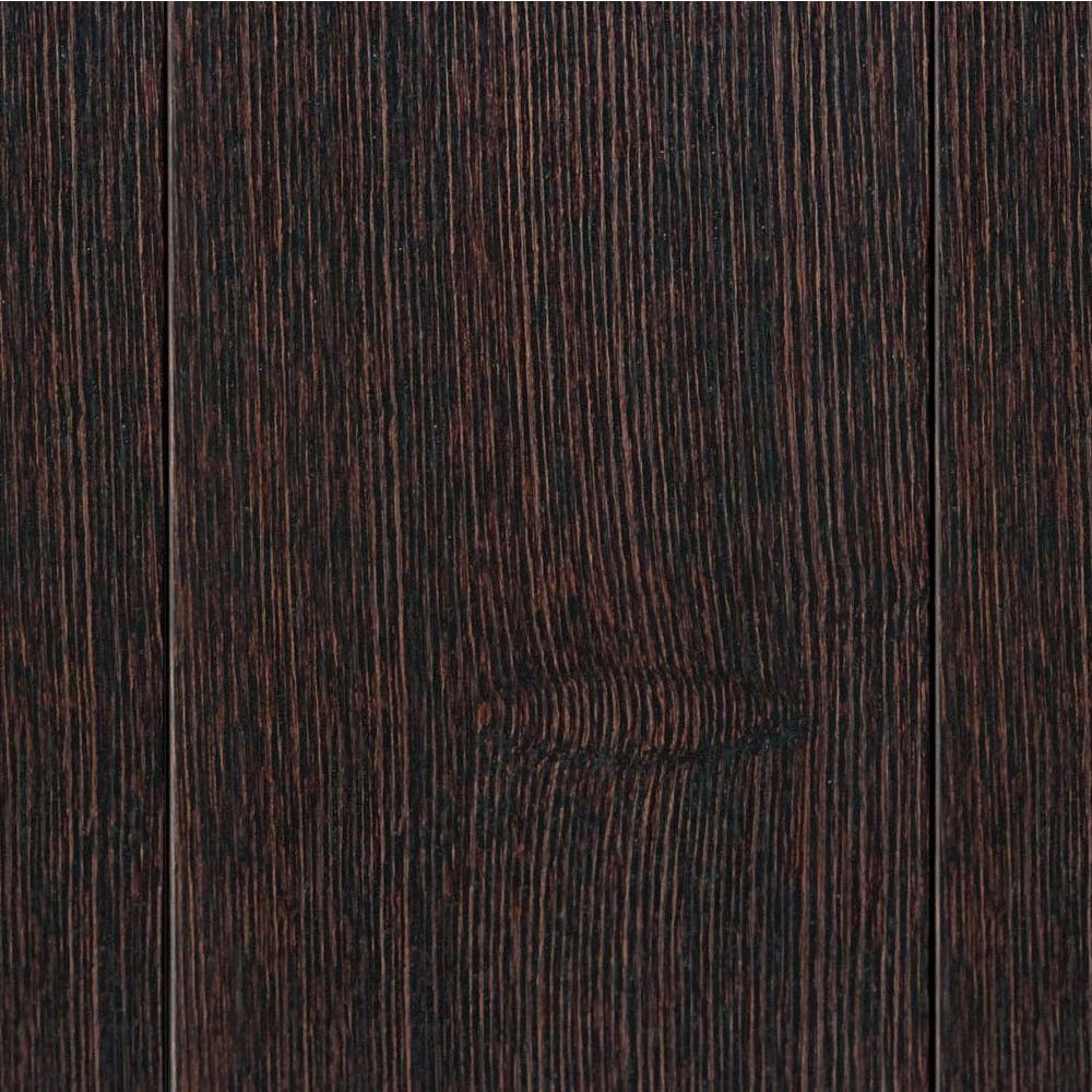 Home Legend Wire Brush Elm Walnut 3/4 in. Thick x 3-1/2 in. Wide x Random Length Solid Hardwood Flooring (15.53 sq. ft. / case)