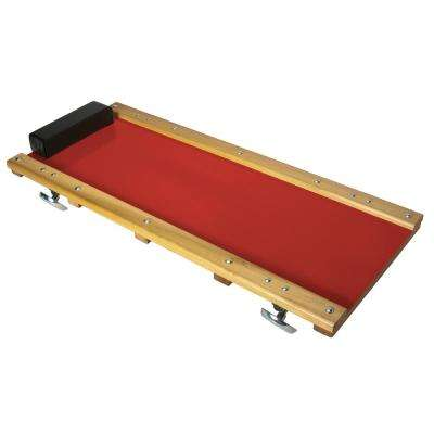 36 in. x 25 in. x 4 in. Hardwood Frame Creeper