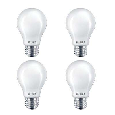 60-Watt Equivalent A19 Non-Dimmable Energy Saving Frosted Classic Glass LED Light Bulb Daylight (5000K) (16-Pack)