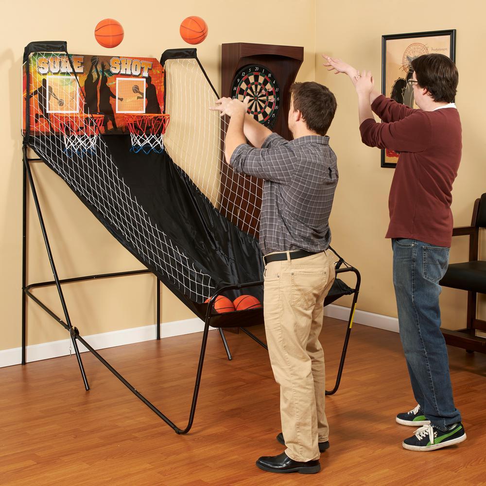 Sure Shot Dual Electronic Basketball Game