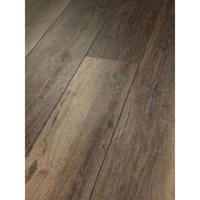 Melrose Oak Click 9 in. x 59 in. Lodge Resilient Vinyl Plank Flooring (21.79 sq. ft. / case)