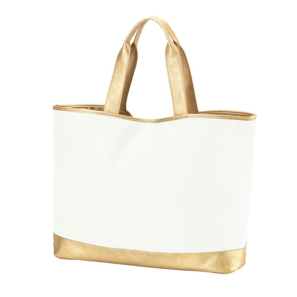Cabana Cream Tote Bag