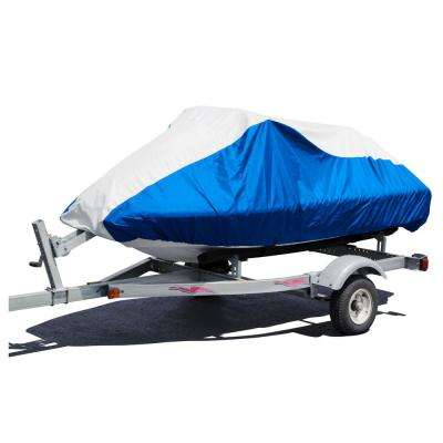 Sportsman Deluxe 121 in. to 135 in. 4-Stroke Blue/Gray Personal Watercraft/Jetski Cover Size PW-4