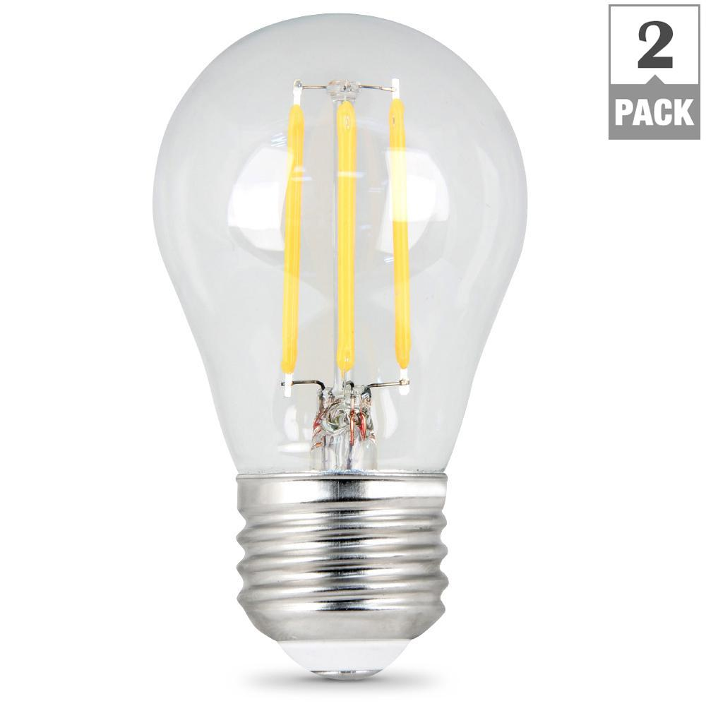 Feit Electric 4 5 Watt Soft White 2000k At19 Dimmable