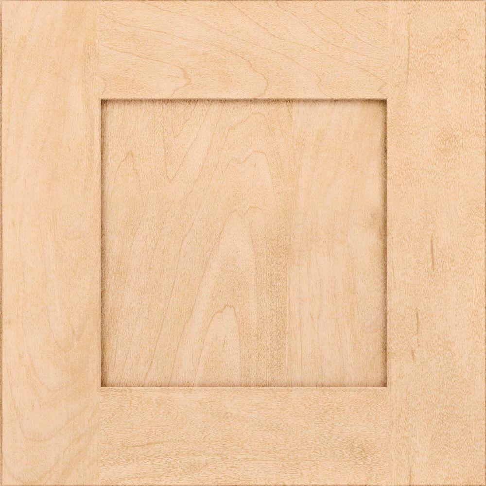 KraftMaid 15x15 In. Cabinet Door Sample In Hayward Maple With  Natural RDCDS.HD,DRHM4,NAM   The Home Depot