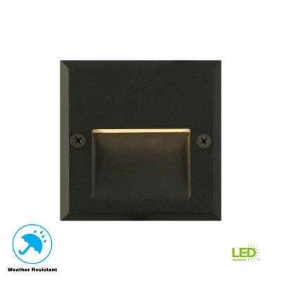 10-Watt Black Outdoor Integrated LED Landscape Path Light