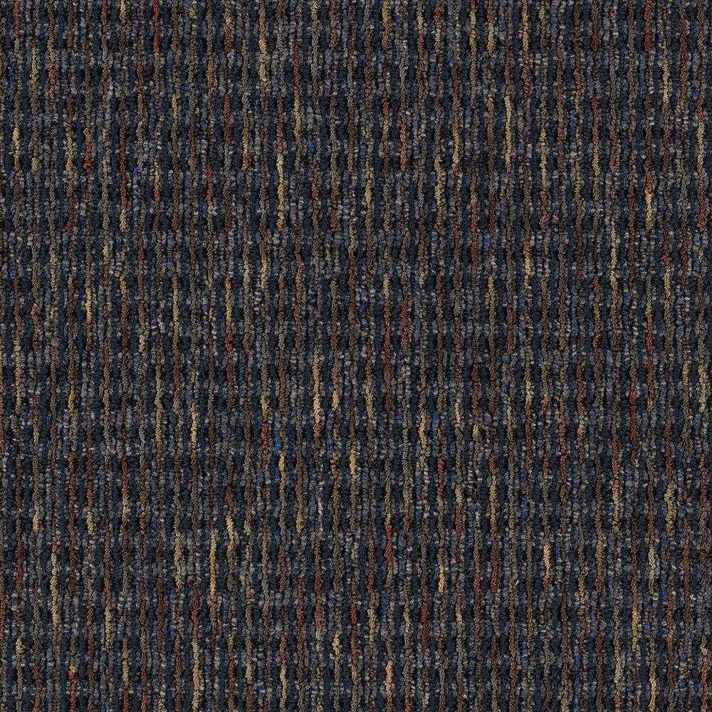 Carpet Sample - Social Network III - Color Lagoon 8 in. x 8 in.