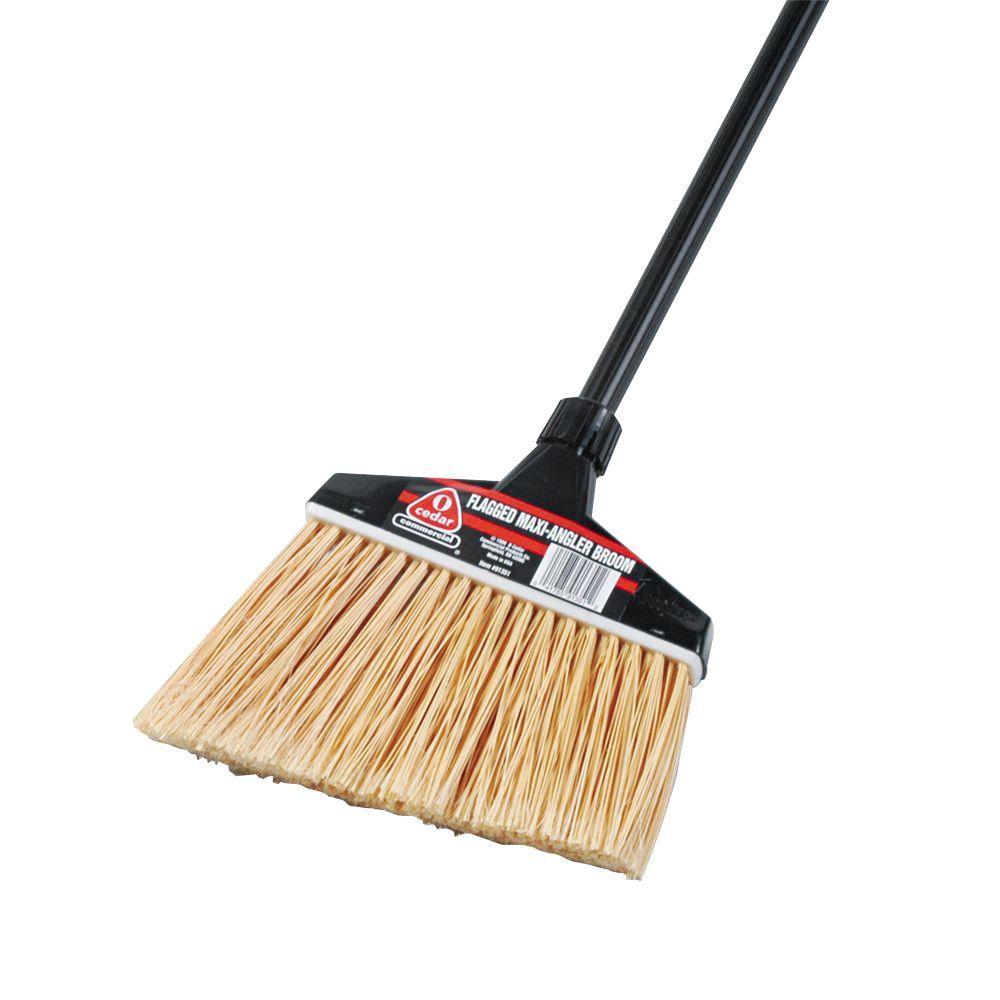 O Cedar 51 In Maxi Angler Black Handle Broom Dvo91351ct