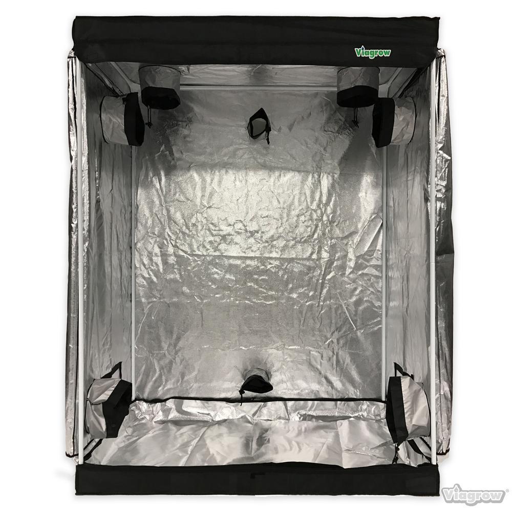 2 ft. x 4 ft. x 6.5 ft. Grow Room Tent