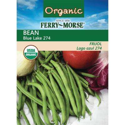 Bean Blue Lake 274 Organic Seed