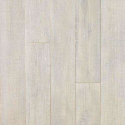 Take Home Sample - Chalked Hickory Laminate Flooring - 5 in. x 7 in.
