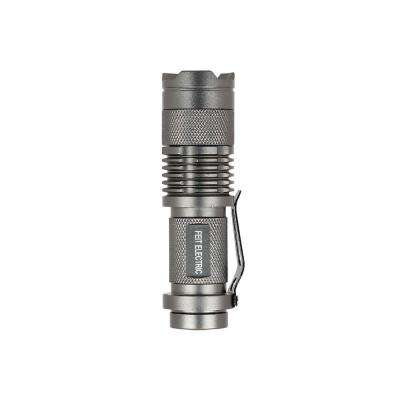 125 Lumen Ultra Bright Tactical High Performance Compact Sliding Zoom LED Flashlight (24-Pack)