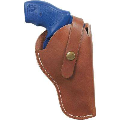 Size 04 Red Mesa Leather Hip Holster