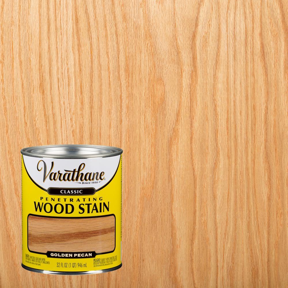 Varathane 1 qt. Golden Pecan Classic Wood Interior Stain