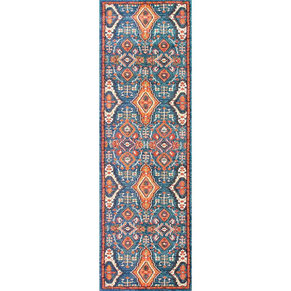 Diamond Elayne Multi 3 Ft X 8 Ft Runner Rug Kkcb16a 2608