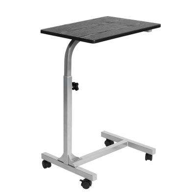 Bello Black Bed Desk with Movable Wheels