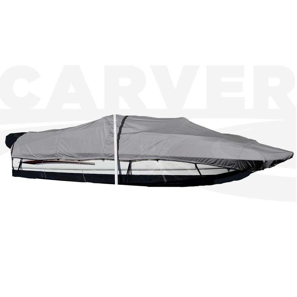 Centerline: 24 ft. 6 in. Styled-To-Fit Boat Cover for I/O Deck
