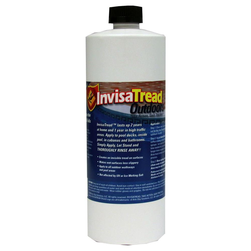 InvisaTread 1 Qt. Outdoor Slip Resistant Treatment for Tile and Stone