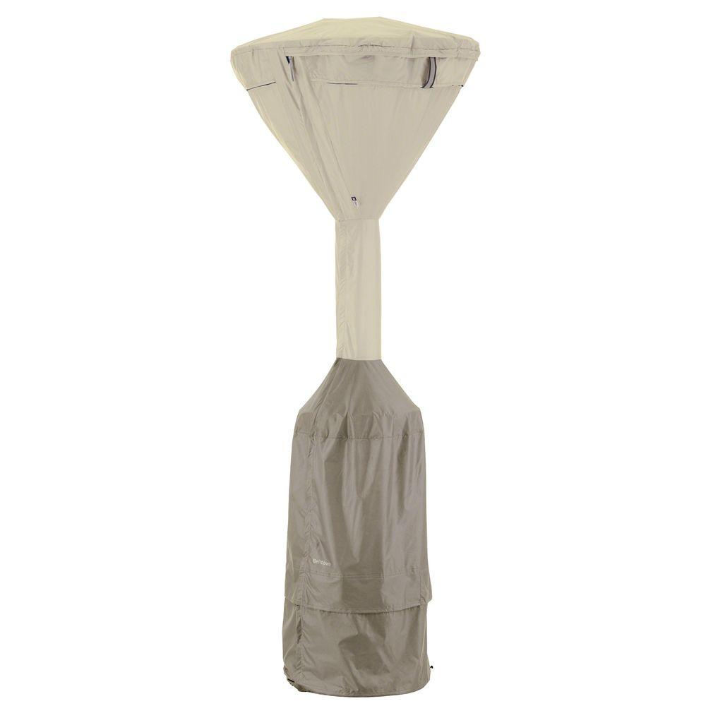 Belltown Sidewalk Grey Stand-Up Patio Heater Cover