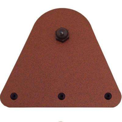 4-15/16 in. x 5-3/8 in. Triangle New Age Rust Roller Strap