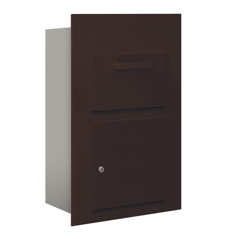 3600 Series Collection Unit Bronze USPS Front Loading for 5 Door