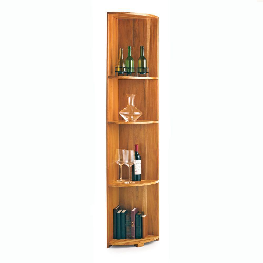 Wine Enthusiast N Finity Natural Floor Wine Rack 618 50 11 The