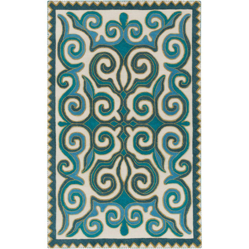 Lorenzo Teal 5 ft. x 7 ft. 6 in. Indoor Area