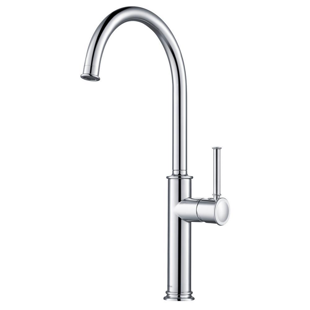 Sellette Single-Handle Kitchen Bar Faucet in Chrome