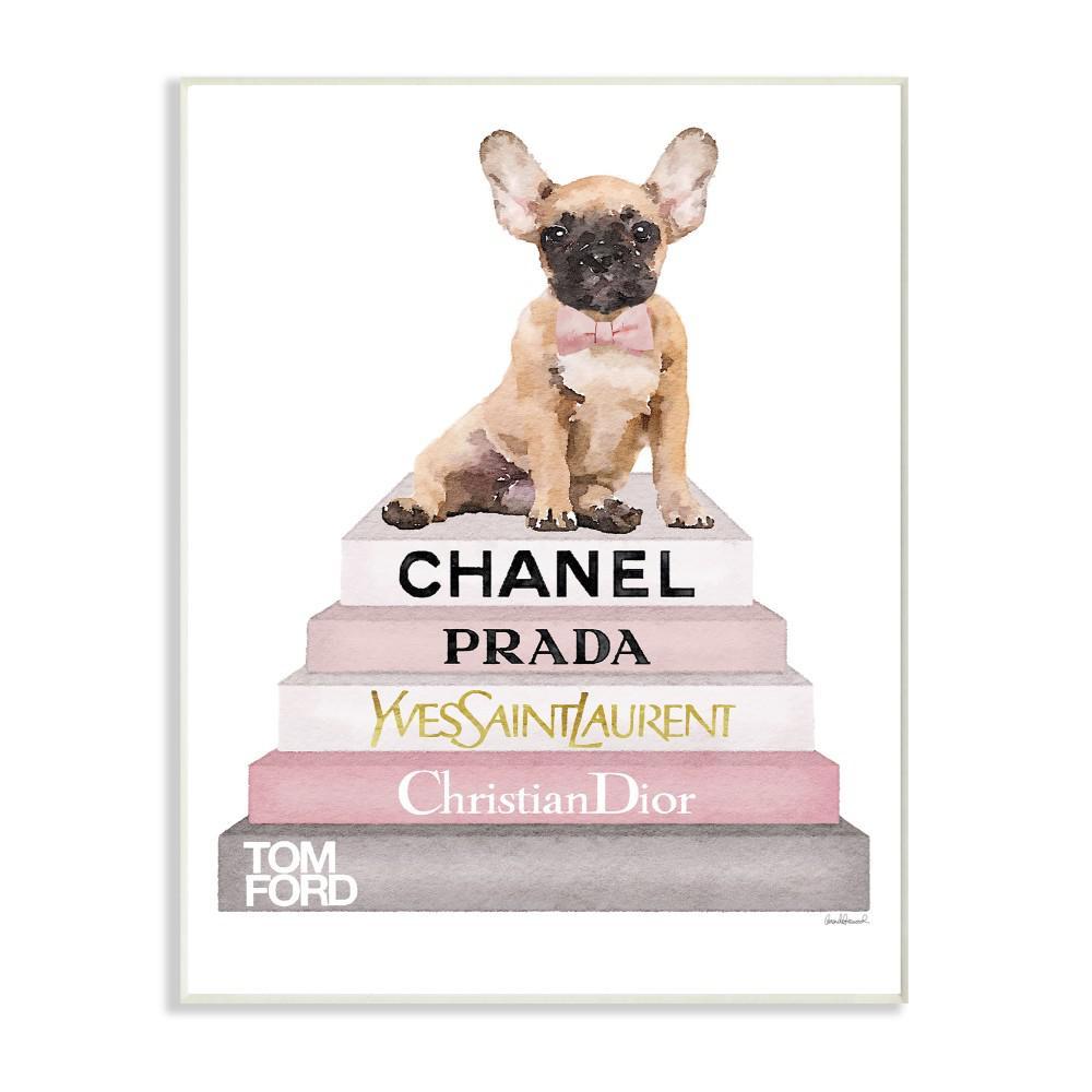 bathroom decor  animal dog art gifts 13x19 french bulldog dog art print