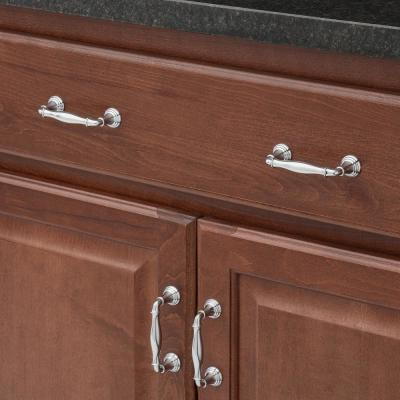 Devonshire 3 in. Polished Chrome Drawer Pull
