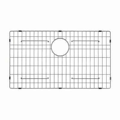 Stainless Steel Bottom Grid for KHF200-30 Single Bowl 30in. Farmhouse Kitchen Sink, 26 3/4in. x 15 11/16in. x 1 3/8in.