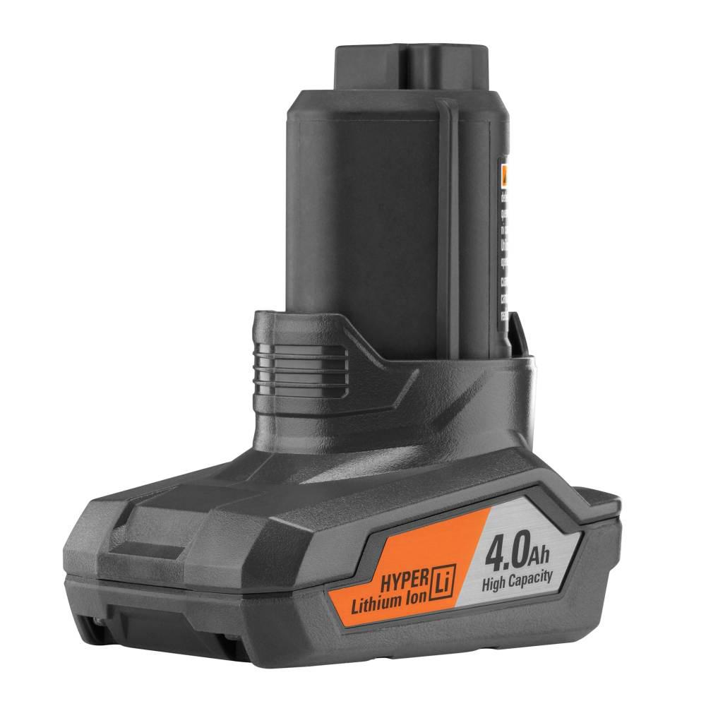 RIDGID 12-Volt 4.0 Ah Lithium-Ion Battery Pack