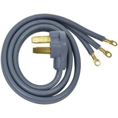 4 ft. 8/10 3-Wire Electric Range Plug