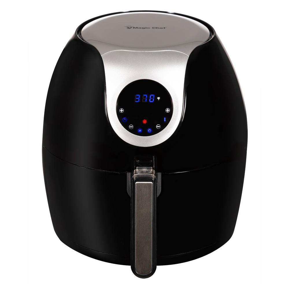Magic Chef 5.6 Qt. XL BPA Free Digital Touch Air Fryer