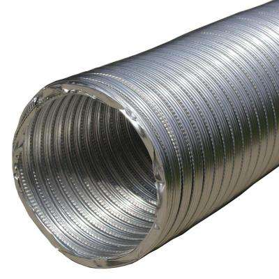 3 in. x 96 in. Round Aluminum Flex Pipe