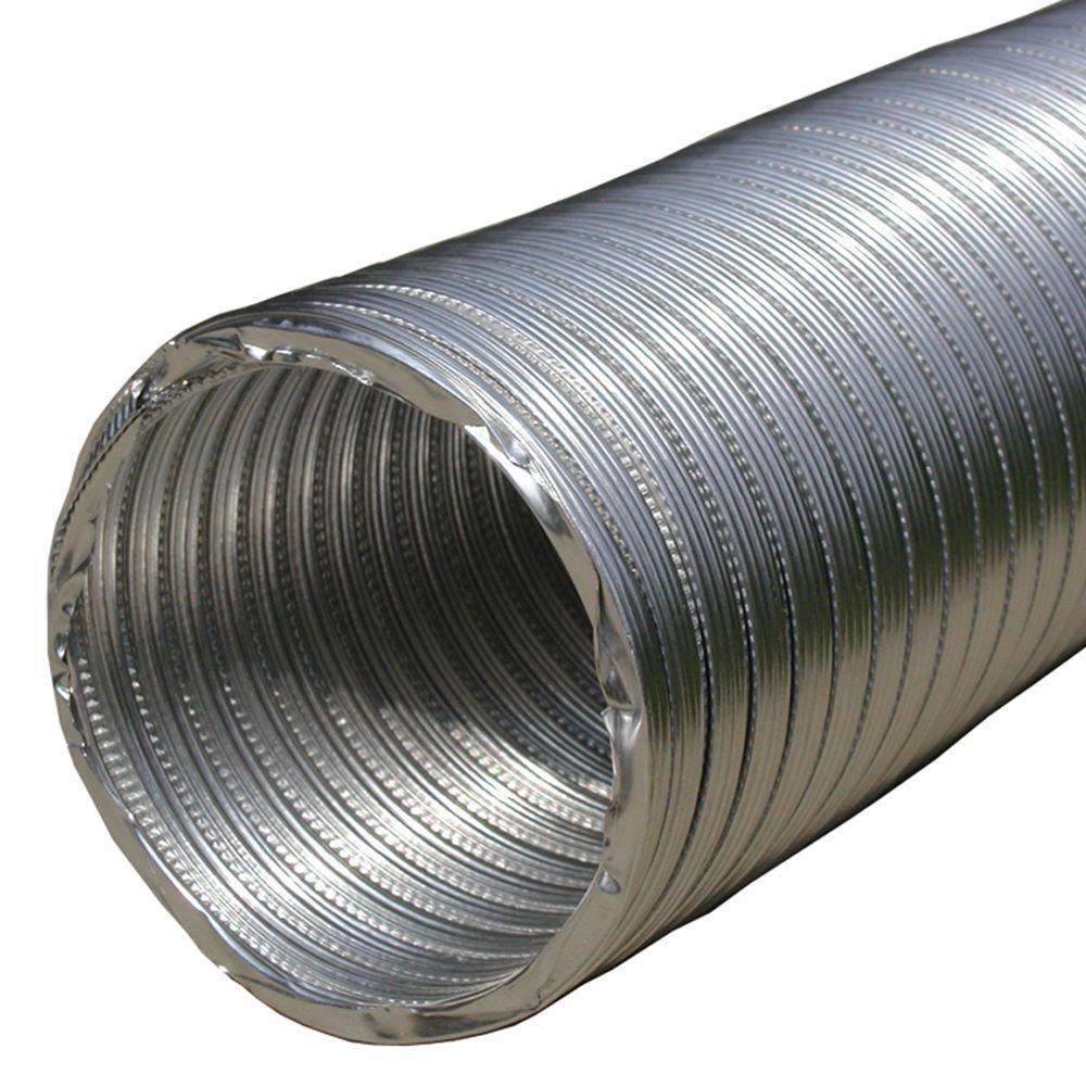 3 in. x 96 in. Round Aluminum Flex Pipe