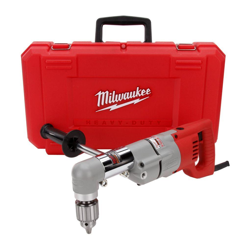 Milwaukee 1 2 In Rad Drill Plumber S Kit 3102 6 The Home Depot