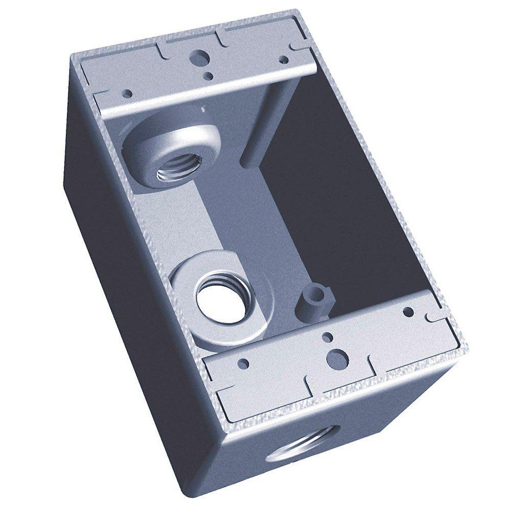RED DOT ELECTRICAL S-48 outlet box