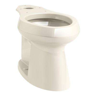 Highline Elongated Toilet Bowl Only in Almond