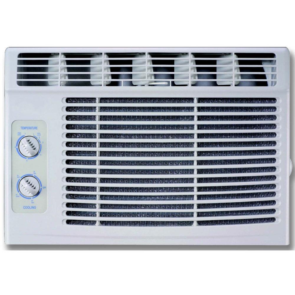 5,000 BTU 115-Volt Window Air Conditioner with Mechanical Controls