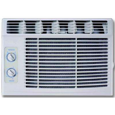 5,000 BTU 115-Volt Window Air Conditioner with Mechanical Controls