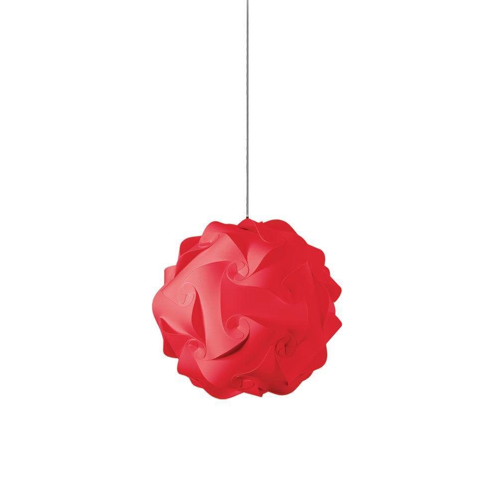 Catherine 1-Light Red Pendant