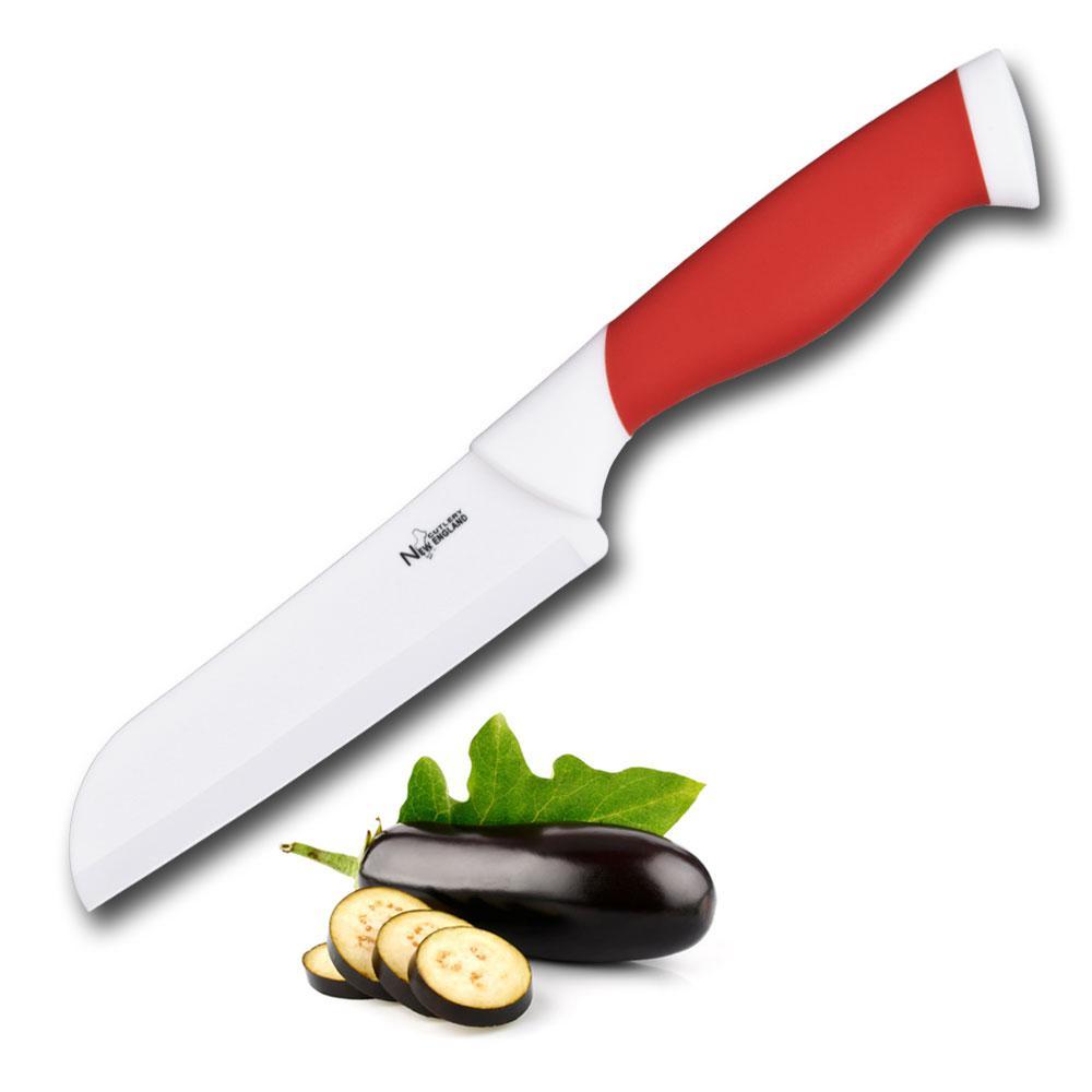 New England Cutlery 5 in. Ceramic Santoku Knife